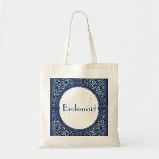BRAUTJUNGFER Taschen-Vintager Kunst-Deko-Rahmen Budget Stoffbeutel