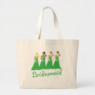 Brautjungfern, die Taschen Wedding sind