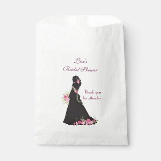 Brautparty-Bevorzugungs-Silhouette Geschenktütchen