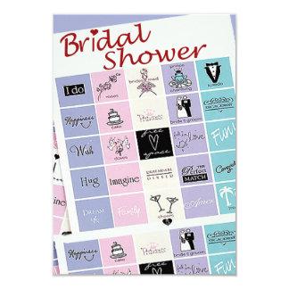 Bridal Shower Bingo Invite