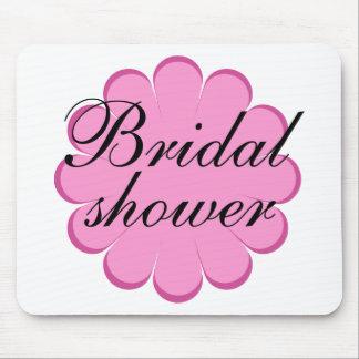 Brautparty-Blumenentwurf! Mauspad