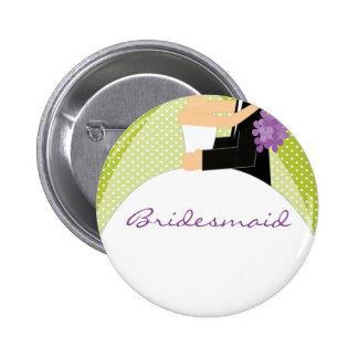 Brautparty-Brautjungfern-Knopf/Button
