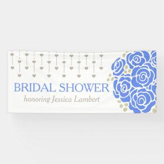 Brautparty, das blaue Posynamenfahne wedding ist Banner
