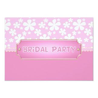 Brautparty-Einladung