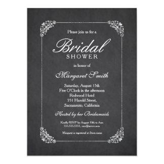 Brautparty-Einladungen der Chic-Tafel-6.5x8.75 16,5 X 22,2 Cm Einladungskarte