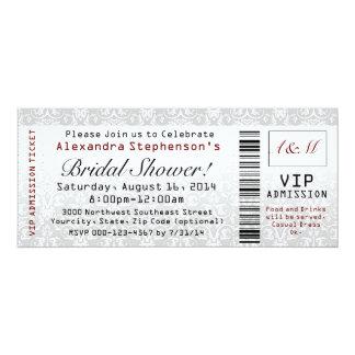 Brautparty-Karten-Einladungen
