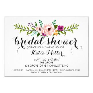 Bridal Shower Invite - Flower Crown II