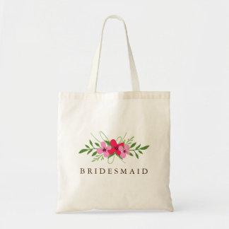 Bridal Party Member Bag - Floral Day