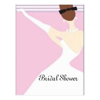 Brautparty Postkarte
