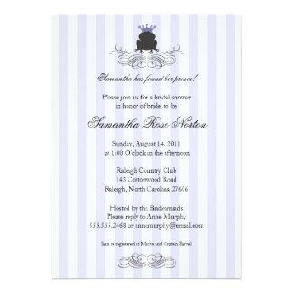 Brautparty Prinz-Frog Themed 12,7 X 17,8 Cm Einladungskarte