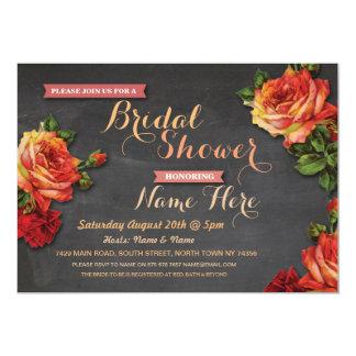 Brautparty-Rosen-Kreide-Party Einladung