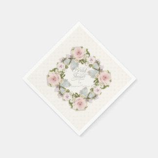 Brautparty-Rosesaftiger Wreath-Party-Dekor Serviette
