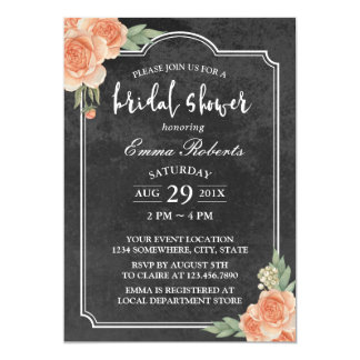 Brautparty-rustikale Tafel-Vintages Blumen Karte