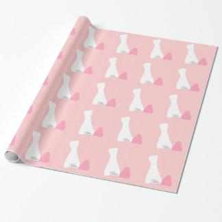 Brautparty-Verpackungs-Papier Geschenkpapier