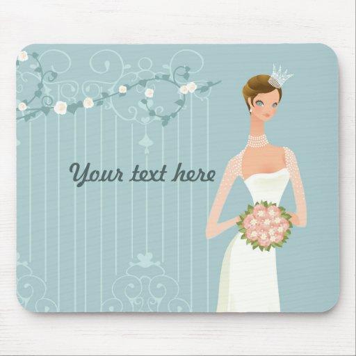 Brautpartybevorzugungsidee Mousepad