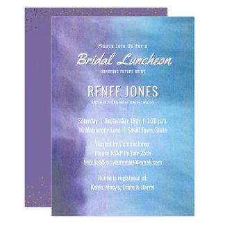 Brautpastelllavendel-lila Blau des mittagessen-| Karte