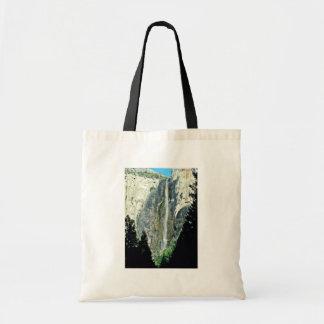 Brautschleier-Fälle - Yosemite Nationalpark Budget Stoffbeutel