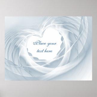 Brautschleier Posterdruck