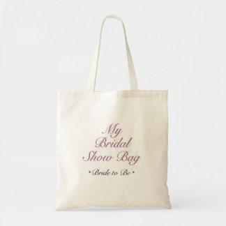 Brautshow-Taschen-Tasche Budget Stoffbeutel