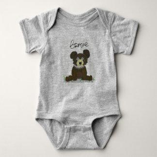 Brave Bären Baby Strampler