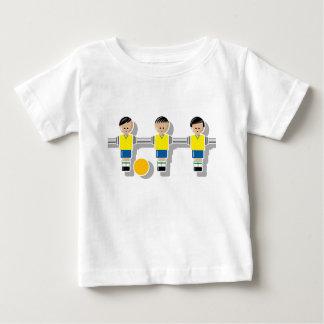 Brazil foosball baby t-shirt