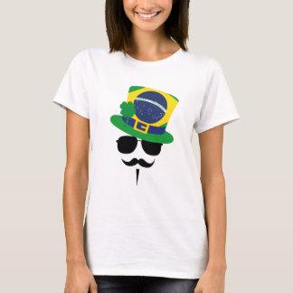 Brazil go Mustache T-Shirt
