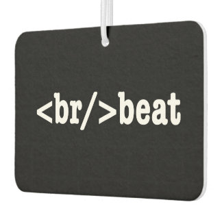 breakbeat HTML Lufterfrischer