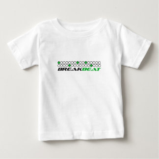 Breakbeat Musik-Produktions-Muster Baby T-shirt