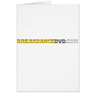 Breakdance DVD Standard-Logo Karte