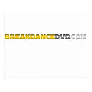 Breakdance DVD Standard-Logo Postkarte