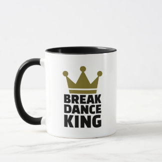 Breakdance König Tasse