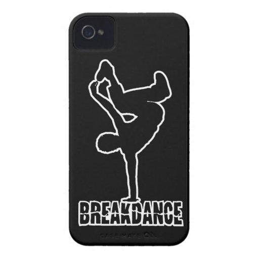 Breakdance kundenspezifische Farbetelefon-Case-Mat Case-Mate iPhone 4 Hülle