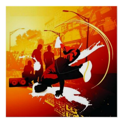 Breakdance Plakat