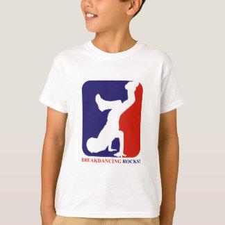 Breakdance schaukelt Entwürfe T-Shirt