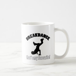 breakdance Tanzentwürfe Kaffeetasse