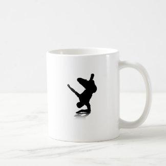 Breakdancer (auf Ellbogen) Kaffeetasse