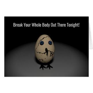 Brechen Sie Ihren ganzen Körper Karte