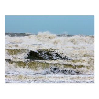Brechende Wellen Postkarte