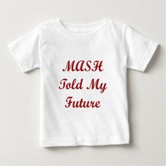 BREI sagte meiner Zukunft als Kind Baby T-shirt