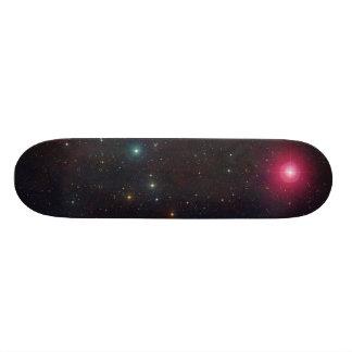 Breite Feld-Ansicht-Konstellation Cetus Sterne 18,7 Cm Mini Skateboard Deck