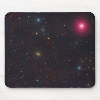 Breite Feld-Ansicht-Konstellation Cetus Sterne Mousepad