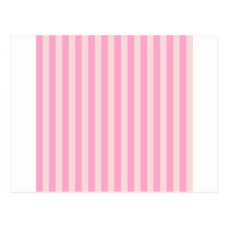 Breite Streifen - Rosa 2 - erblassen - Rosa und Postkarte