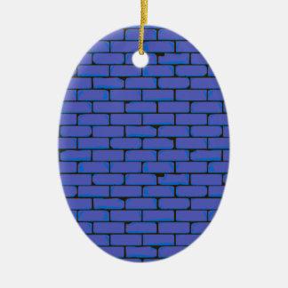 Breiter blauer Wand-Hintergrund Keramik Ornament