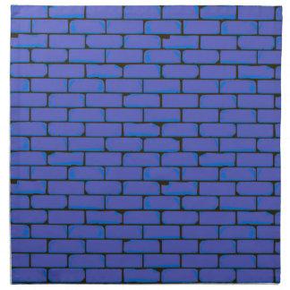 Breiter blauer Wand-Hintergrund Serviette