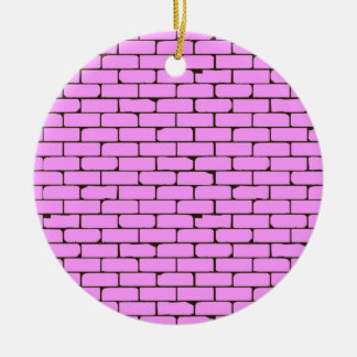 Breiter rosa Wand-Hintergrund Keramik Ornament