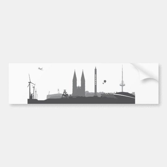 Bremen Skyline Aufkleber Autoaufkleber