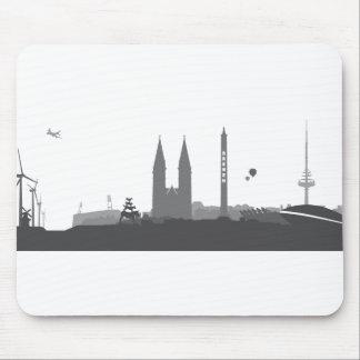 Bremen Skyline Mauspads