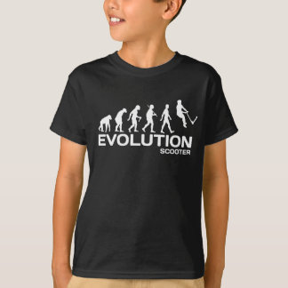 Bremsung ROLLER-EVOLUTIONS-Tritt scoot KinderT - T-Shirt