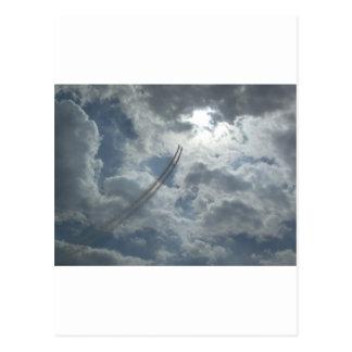 Bremsungs-Fliegen-Demonstration Postkarte