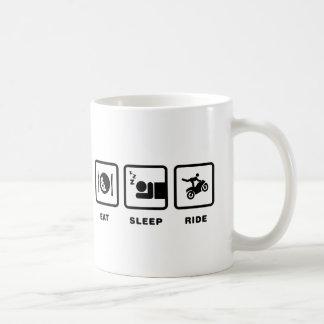 Bremsungs-Reiter Kaffeetasse